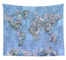 world map Wall Tapestry