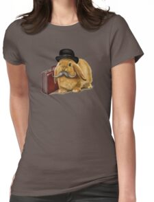 Commuter Bunny Womens Fitted T-Shirt