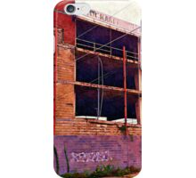 Watercolor Garage iPhone Case/Skin