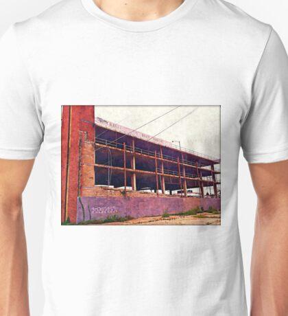 Watercolor Garage Unisex T-Shirt