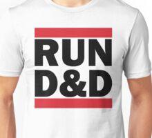 RUN D&D in black Unisex T-Shirt