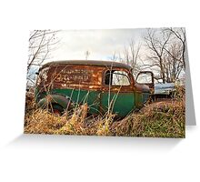 1940s Panel Truck Greeting Card