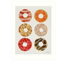 Half Dozen Donuts Art Print