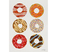 Half Dozen Donuts Photographic Print