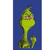Stoned Grinch Photographic Print