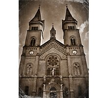 Cathedral Sepia Photographic Print