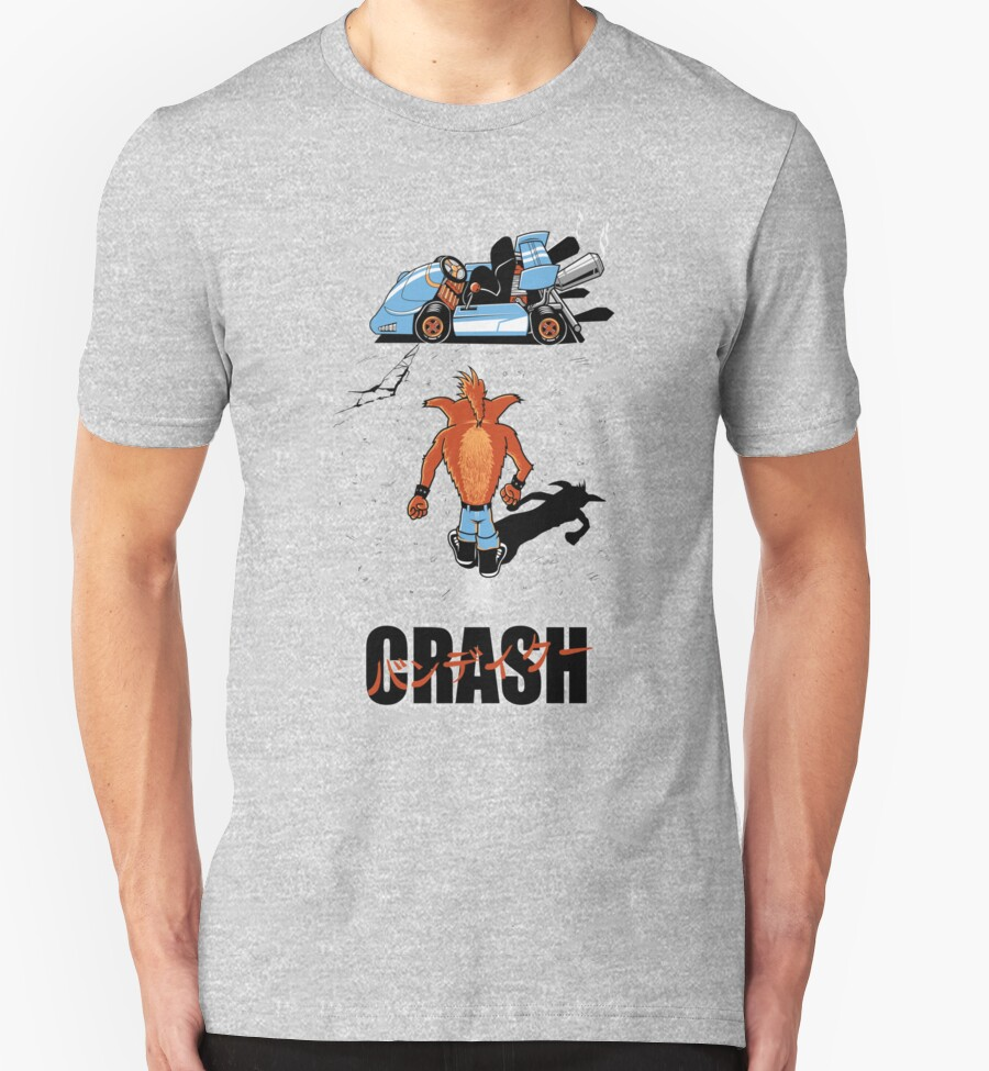 Crash akira t shirts hoodies by fernando sala redbubble for Akira long sleeve shirt