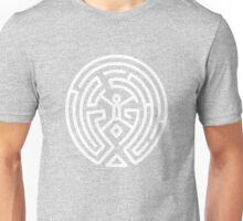 Westworld Big White Maze Logo Unisex T-Shirt