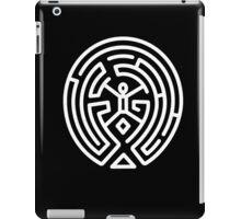 Westworld Big White Maze Logo iPad Case/Skin