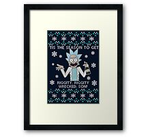Season to get Riggity Wrecked Framed Print