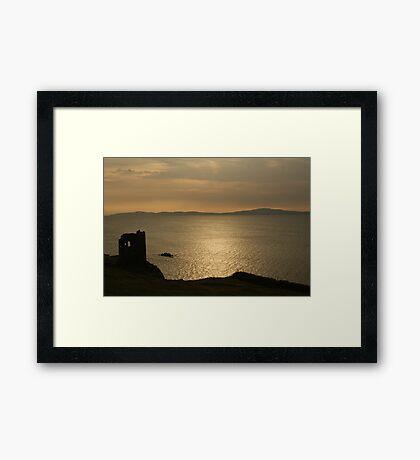 Dunanore ruins, Cape Clear- Ireland Framed Print