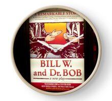 Bill W. & Dr. Bob, NYC subway station Clock