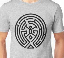 Westworld Black Maze Logo Unisex T-Shirt