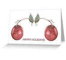 Christmas Cranbuddies Greeting Card