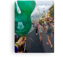 Disney Ballon Metal Print