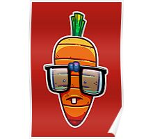 Nerdy Carrot Poster