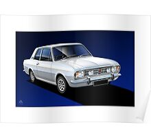 Poster Illustration Ford Cortina 1600 GT Poster