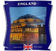 England - Named For The Angles Poster