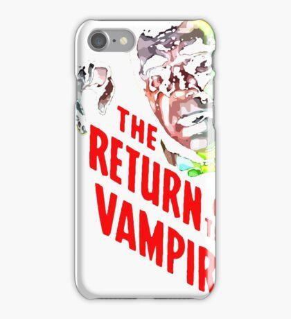 return of the vampire iPhone Case/Skin