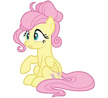 Fluttershy Photographic Print
