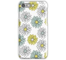 Yellow and Blue Daisies  iPhone Case/Skin