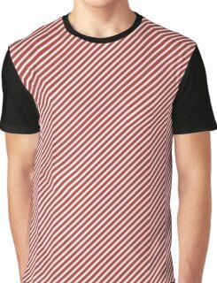 Aurora Red Stripe Graphic T-Shirt
