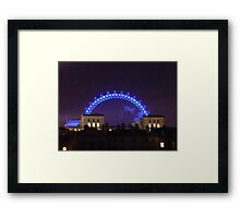 London Eye, Nightwatch  Framed Print