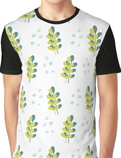 green and blue sea plants Graphic T-Shirt