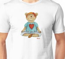 Live Love Yoga Bear Madi  Unisex T-Shirt