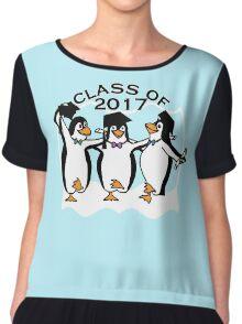 Graduation Penguins - Class of 2017 Chiffon Top