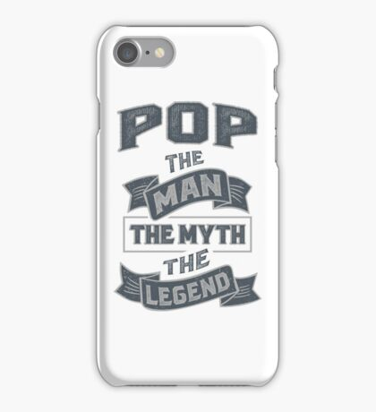 Pop The Myth T-shirt Gifts! iPhone Case/Skin