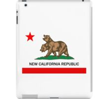 New California Republic  iPad Case/Skin