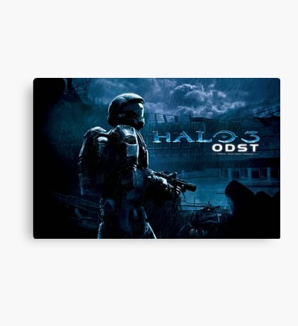 Halo 3 ODST with text Canvas Print
