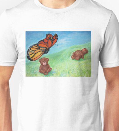 Butterfly Teddy Unisex T-Shirt