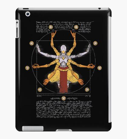 Vitruvian Omnic - color version iPad Case/Skin