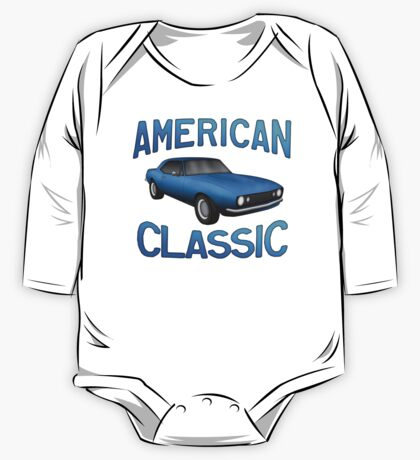 Classic American Muscle z28 One Piece - Long Sleeve