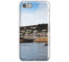 """""""Sun up in Mousehole in late September"""" iPhone Case/Skin"""