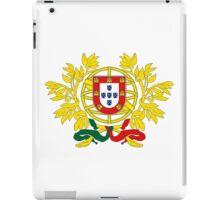 Portuguese coat of arms iPad Case/Skin