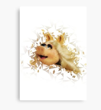 Miss Piggy Canvas Print