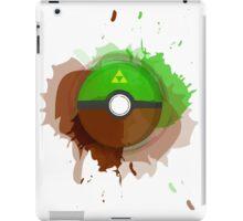 Legend of Zelda - Link Pokeball - Abstract iPad Case/Skin