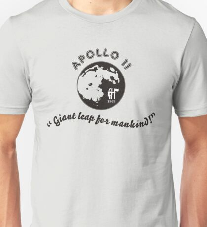 The Apollo 11 Mission Unisex T-Shirt