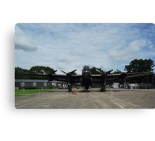 Avro Lancaster 'Just Jane'  RAF East Kirkby Summer 2012 Canvas Print