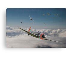 Fw 190 - P47 - Strike Back Canvas Print