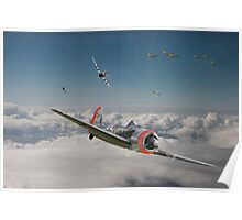 Fw 190 - P47 - Strike Back Poster