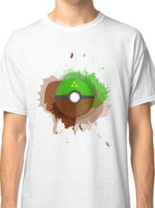 Legend of Zelda - Link Pokeball - Abstract Classic T-Shirt