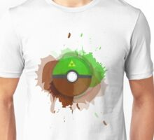 Legend of Zelda - Link Pokeball - Abstract Unisex T-Shirt