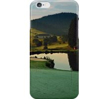 Summer morning at the golf club | landscape photography iPhone Case/Skin