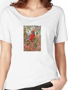 Crimson Rosella Women's Relaxed Fit T-Shirt
