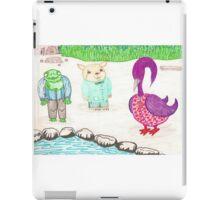 Frog, Hamster, Bird iPad Case/Skin