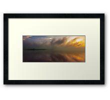 Reservoir Fogs Framed Print